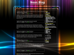 Neon - Darken Free WordPress Theme screenshot