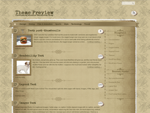 the vintage wordpress theme screenshot